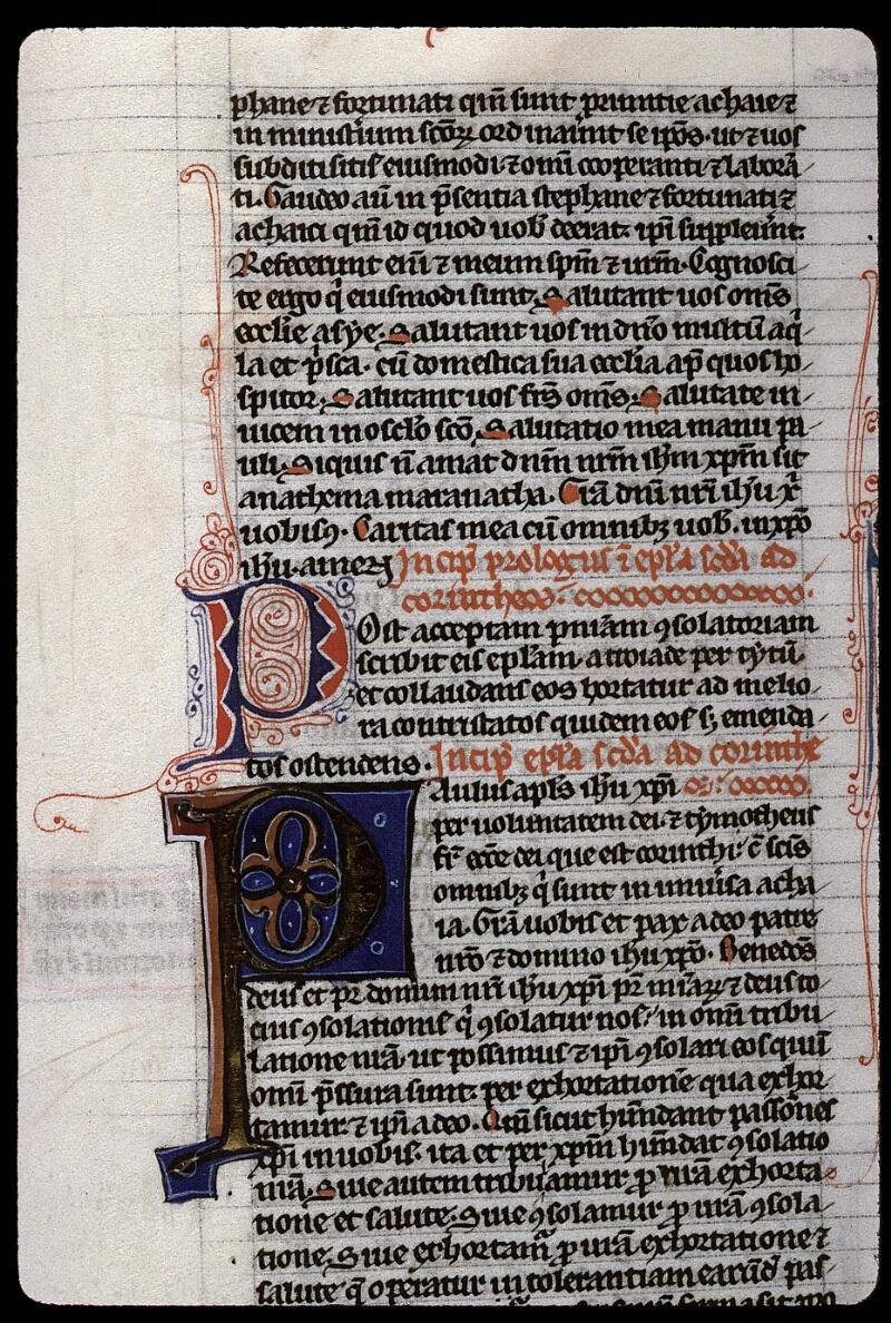 Angers, Bibl. mun., ms. 0015, f. 313 - vue 2