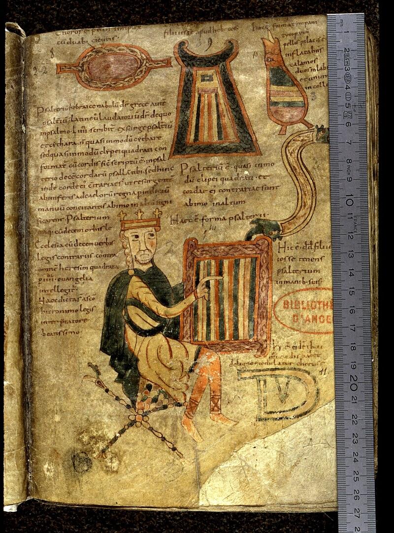 Angers, Bibl. mun., ms. 0018, f. 013 - vue 1
