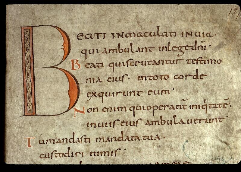 Angers, Bibl. mun., ms. 0018, f. 127 - vue 2