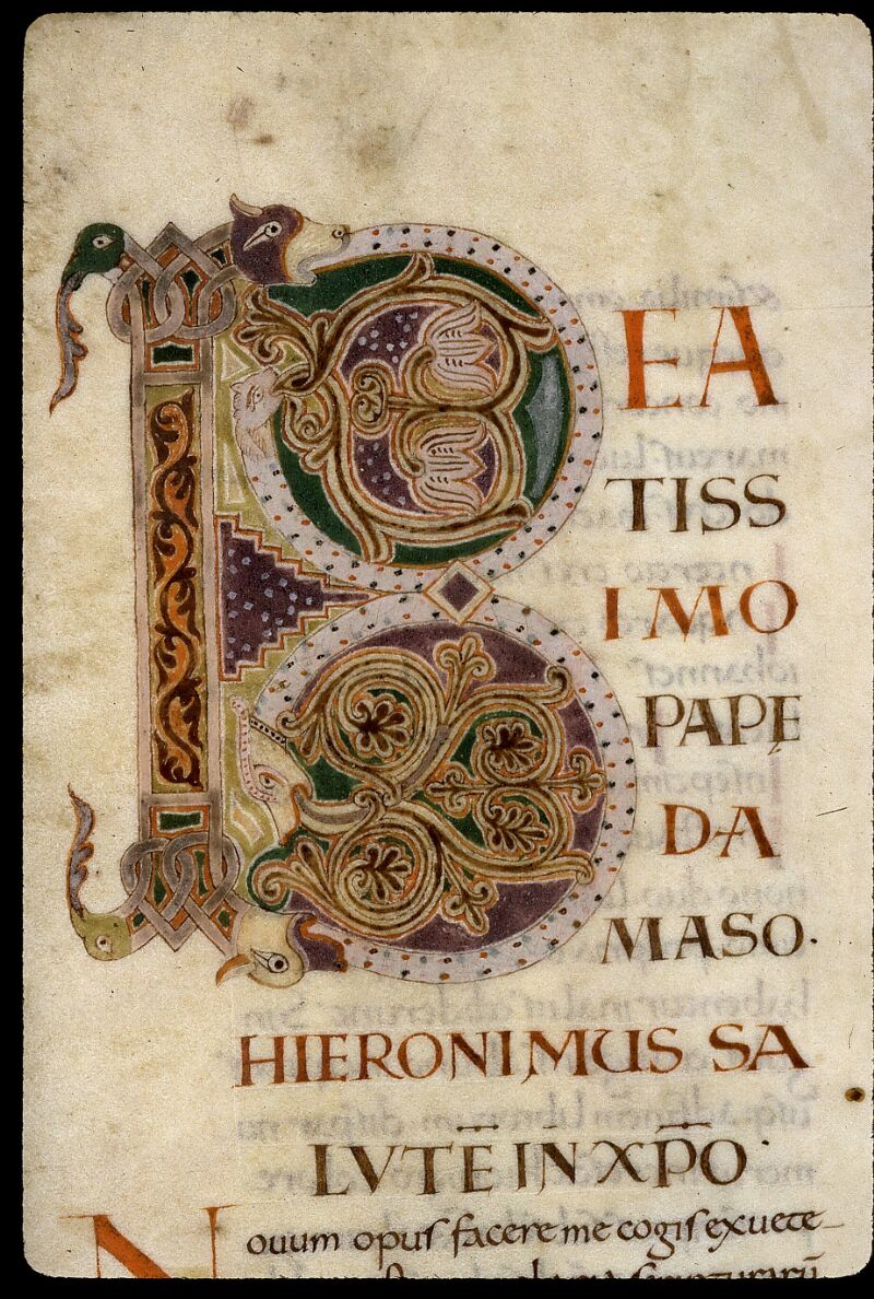 Angers, Bibl. mun., ms. 0021, f. 001 - vue 3