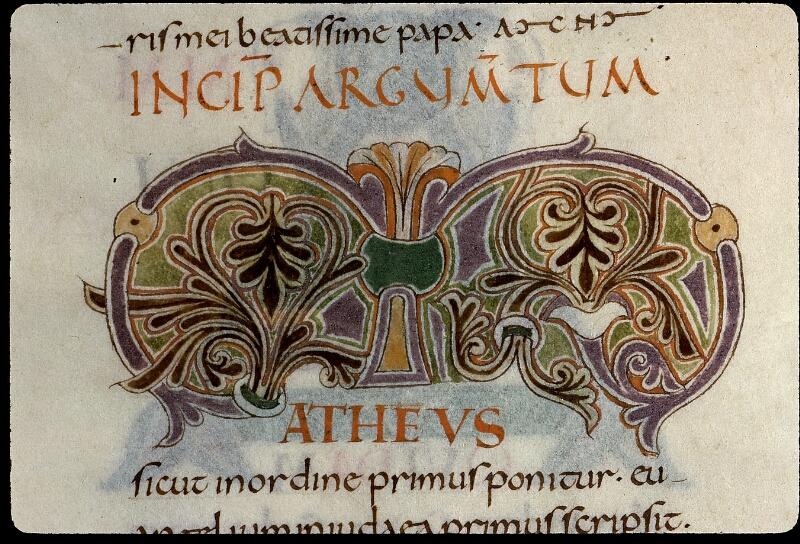 Angers, Bibl. mun., ms. 0021, f. 003v - vue 3