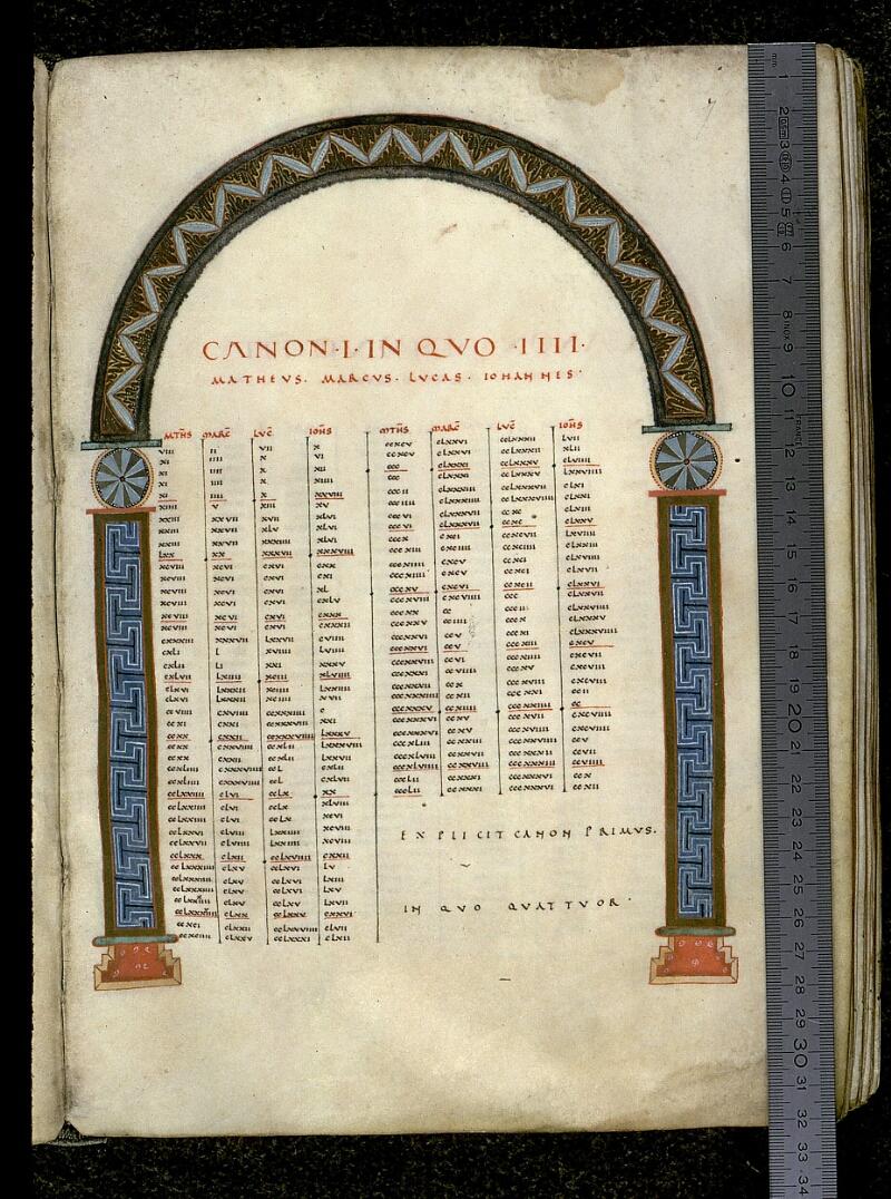 Angers, Bibl. mun., ms. 0022, f. 007 - vue 1