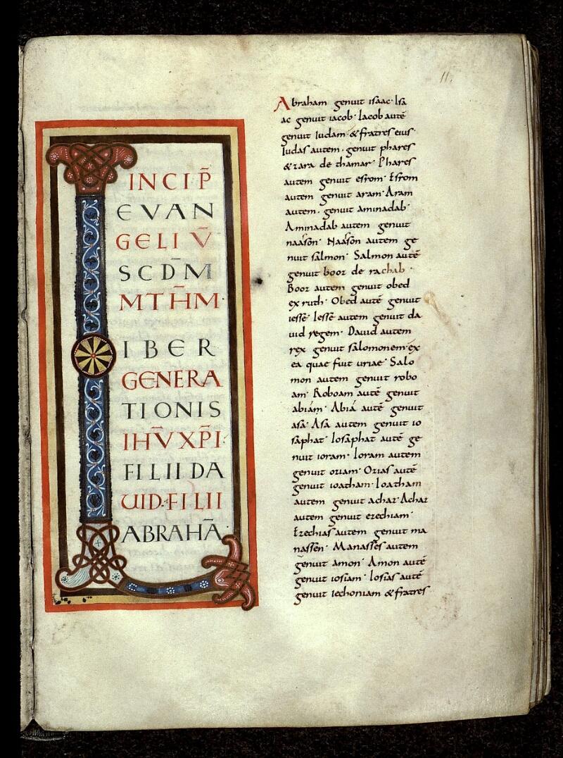 Angers, Bibl. mun., ms. 0022, f. 011 - vue 1