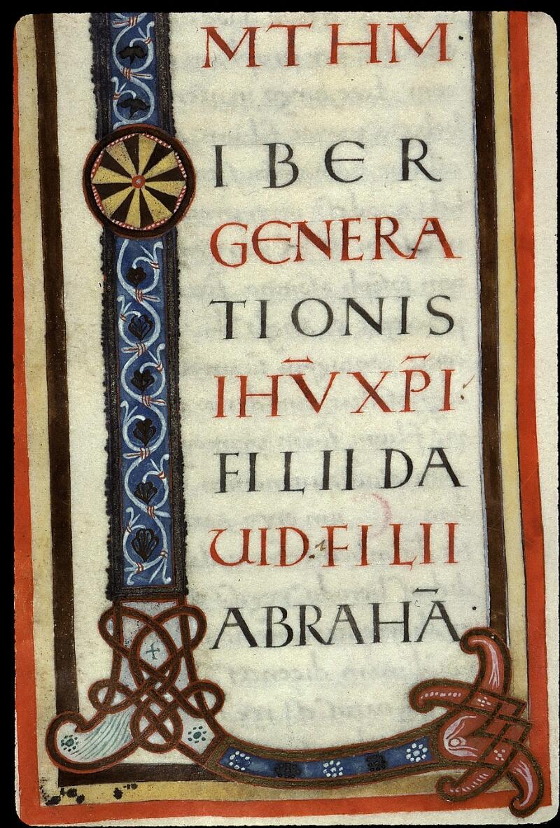 Angers, Bibl. mun., ms. 0022, f. 011 - vue 2