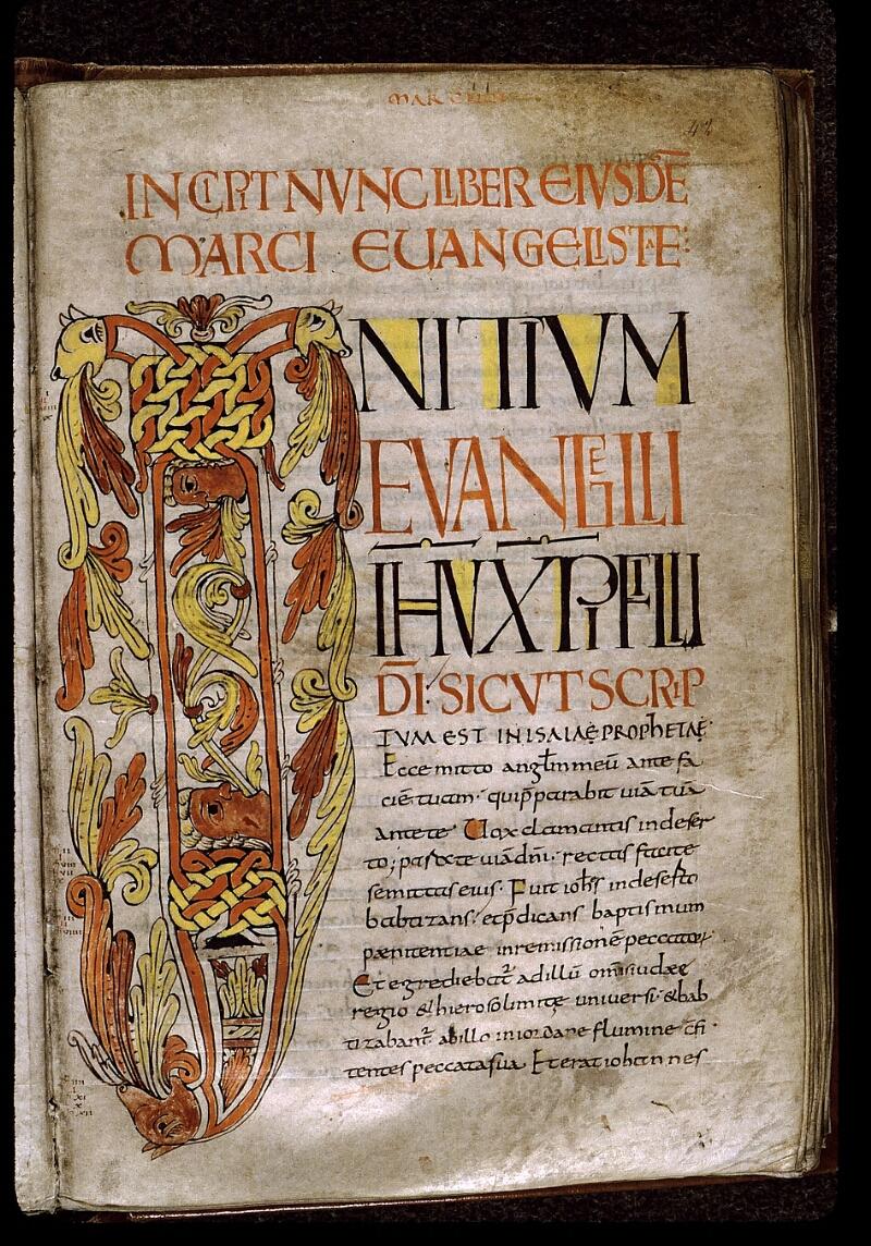 Angers, Bibl. mun., ms. 0024, f. 042 - vue 1