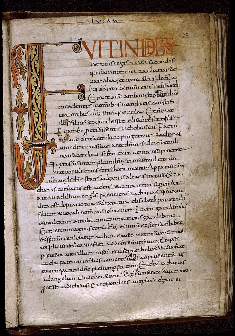 Angers, Bibl. mun., ms. 0024, f. 062 - vue 1