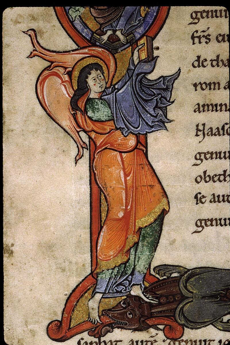Angers, Bibl. mun., ms. 0025, f. 001 - vue 5