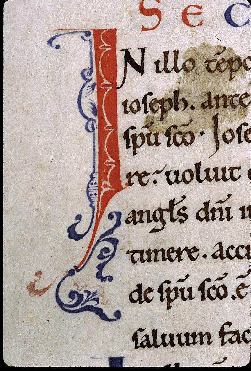 Angers, Bibl. mun., ms. 0025, f. 001v - vue 2