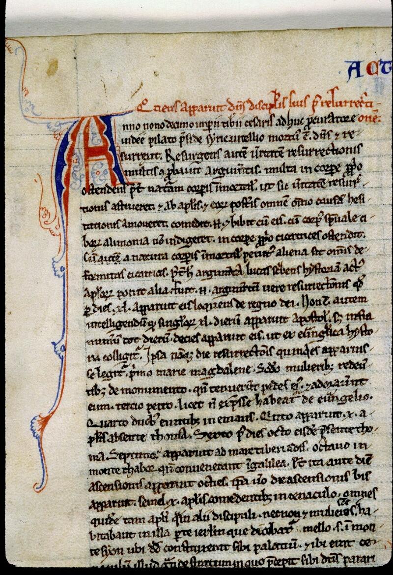 Angers, Bibl. mun., ms. 0026, f. 100 - vue 2