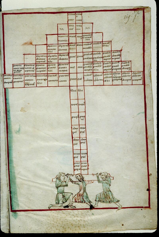 Angers, Bibl. mun., ms. 0026, f. 119 - vue 2