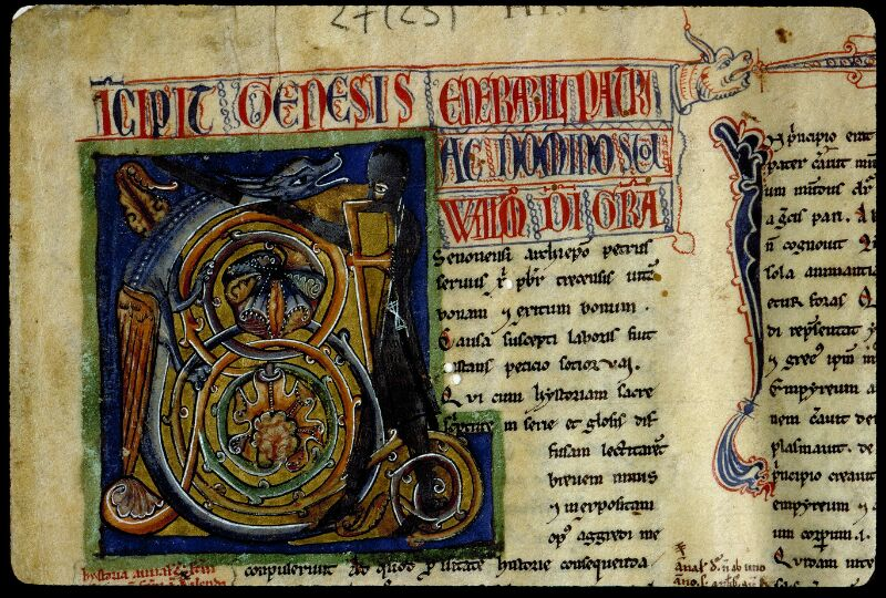 Angers, Bibl. mun., ms. 0027, f. 001 - vue 3