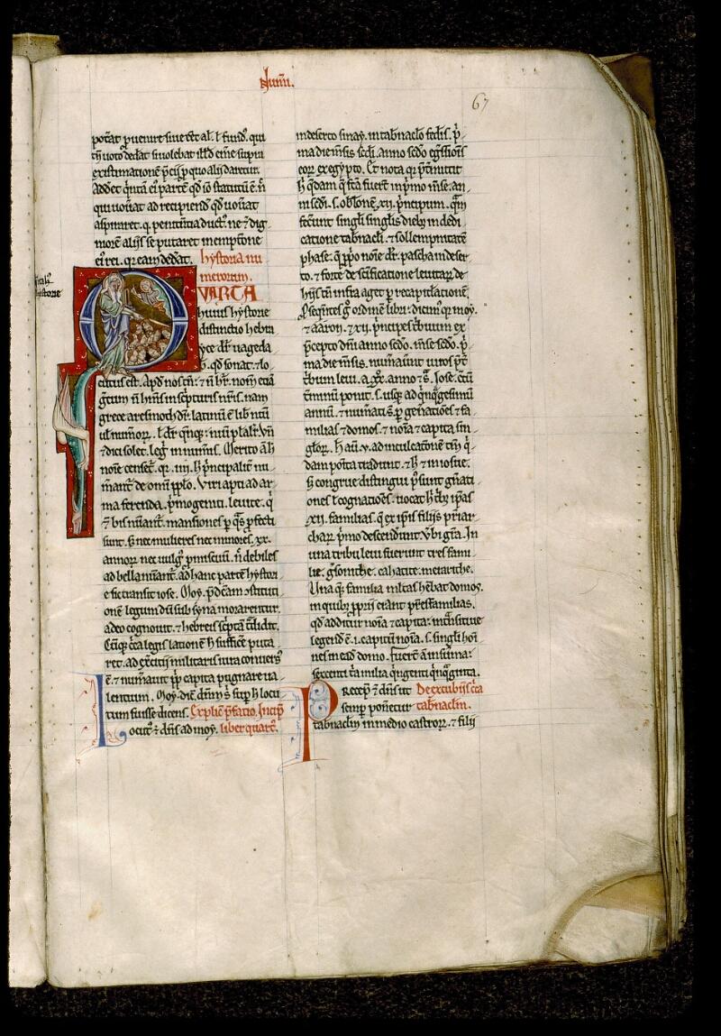 Angers, Bibl. mun., ms. 0028, f. 067 - vue 1