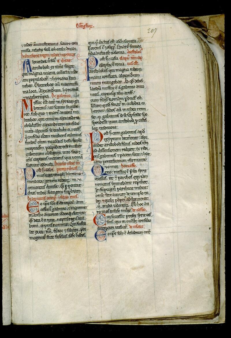 Angers, Bibl. mun., ms. 0028, f. 207
