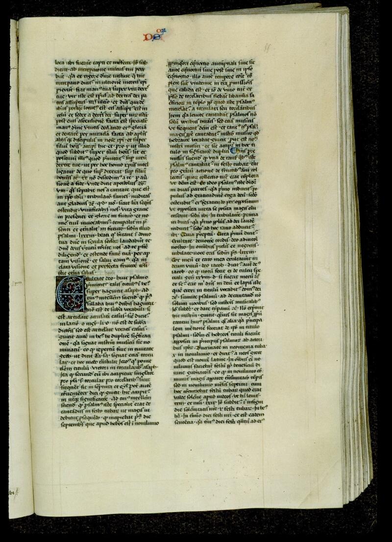 Angers, Bibl. mun., ms. 0035, f. 085 - vue 2
