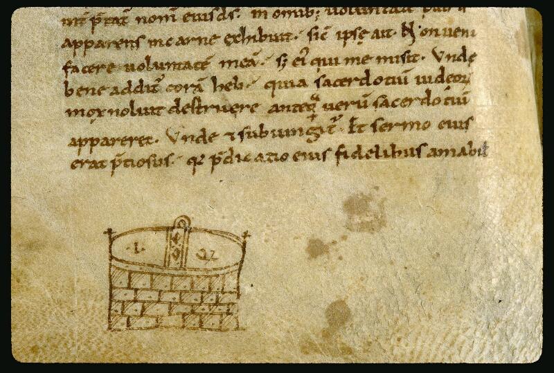 Angers, Bibl. mun., ms. 0042, f. 008v - vue 2