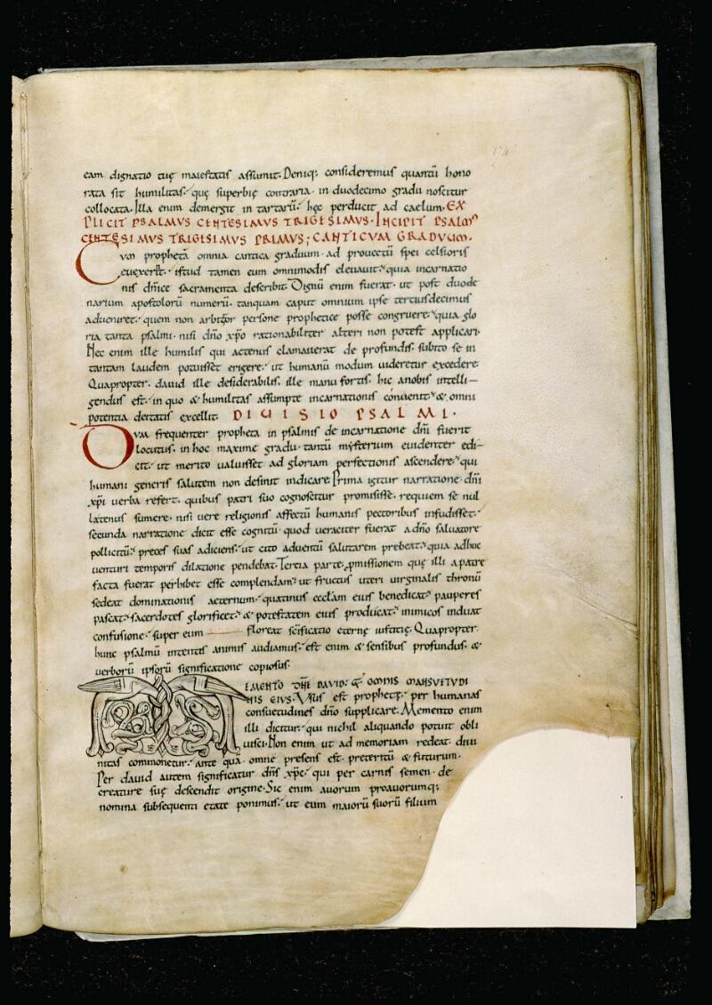 Angers, Bibl. mun., ms. 0044, f. 174 - vue 1
