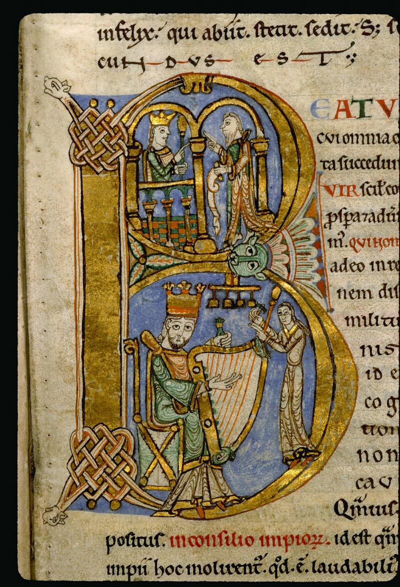 Angers, Bibl. mun., ms. 0047, f. 003 - vue 2