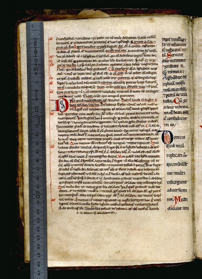 Angers, Bibl. mun., ms. 0048, f. 006v - vue 1