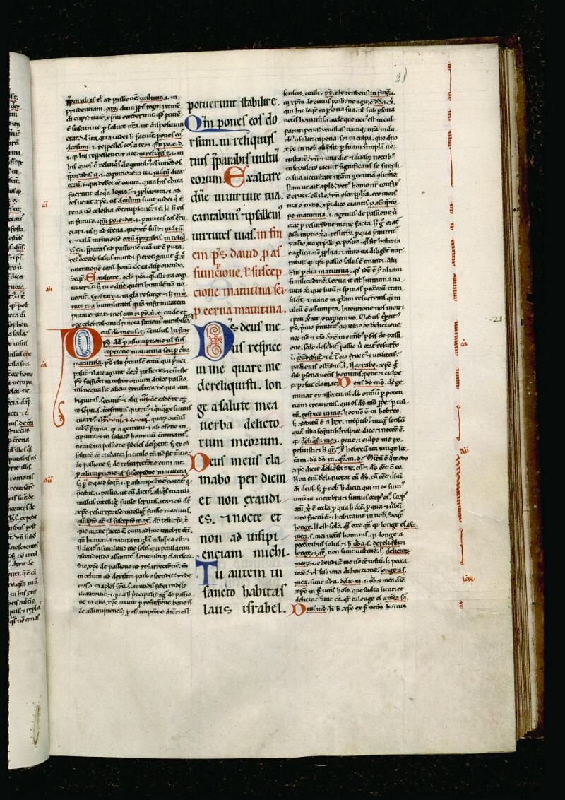 Angers, Bibl. mun., ms. 0049, f. 028 - vue 1