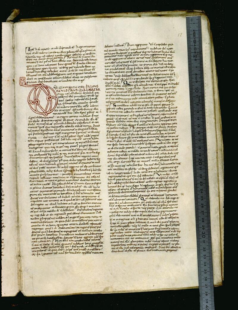 Angers, Bibl. mun., ms. 0050, f. 012 - vue 1
