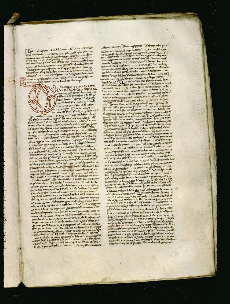Angers, Bibl. mun., ms. 0050, f. 012 - vue 2