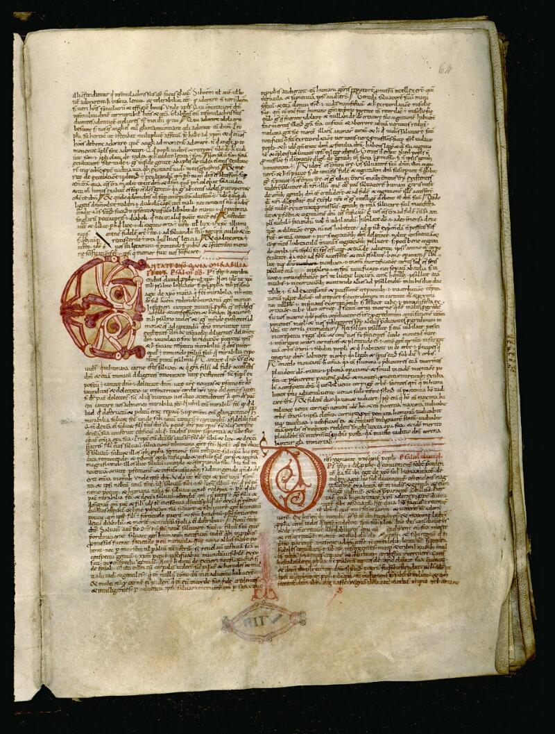 Angers, Bibl. mun., ms. 0050, f. 064