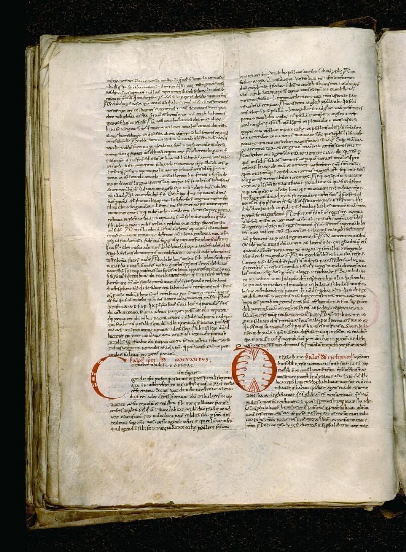 Angers, Bibl. mun., ms. 0050, f. 091v - vue 1