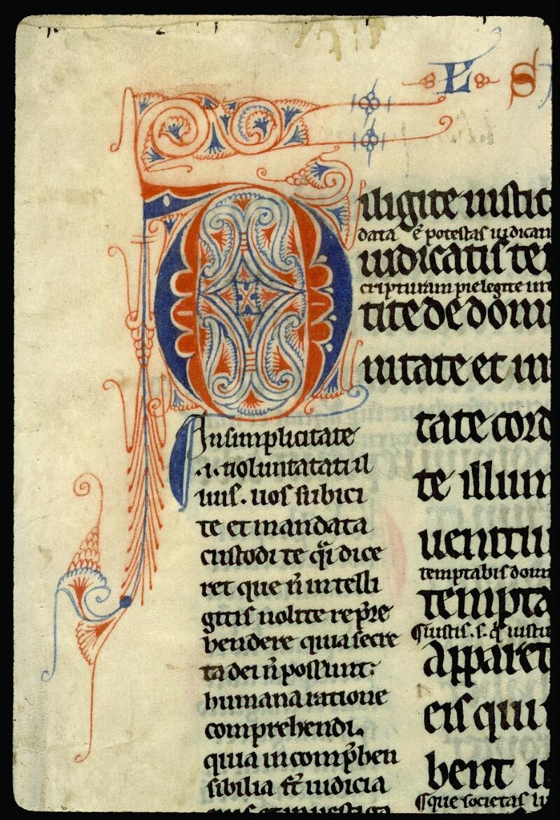 Angers, Bibl. mun., ms. 0052, f. 001 - vue 3