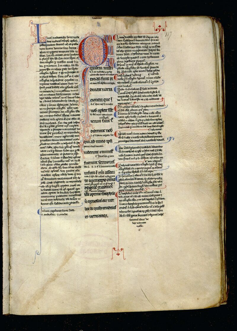 Angers, Bibl. mun., ms. 0056, f. 117 - vue 1