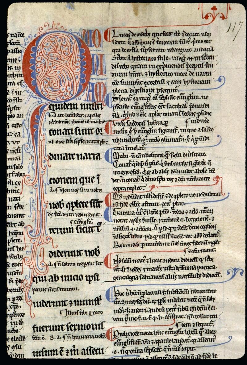 Angers, Bibl. mun., ms. 0056, f. 117 - vue 2