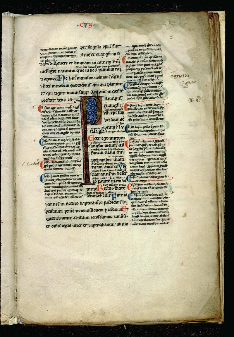 Angers, Bibl. mun., ms. 0061, f. 002