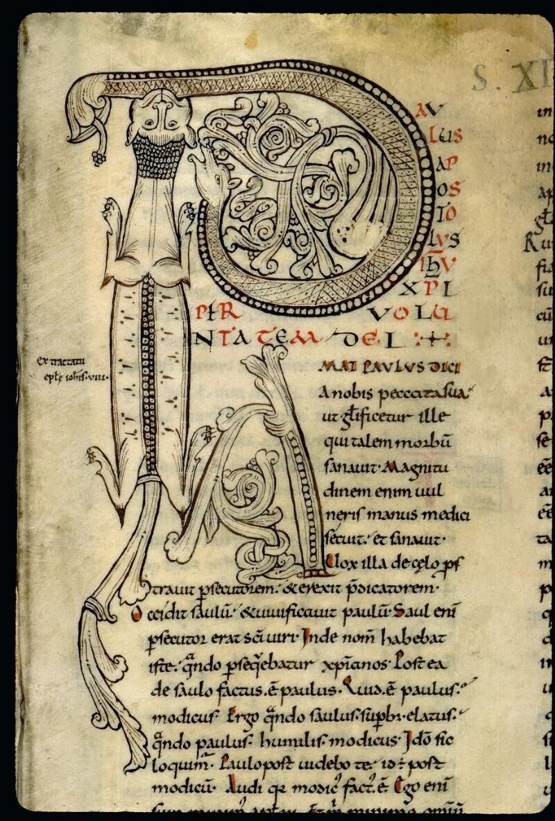 Angers, Bibl. mun., ms. 0066, f. 001 - vue 3