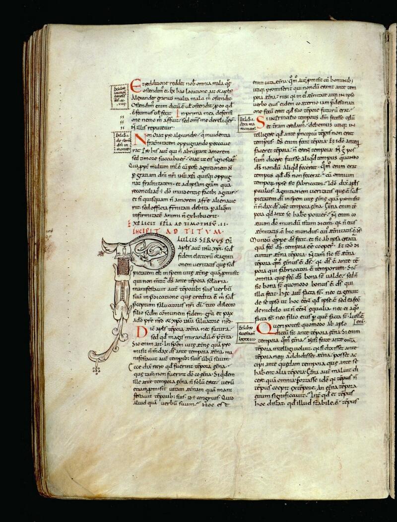 Angers, Bibl. mun., ms. 0066, f. 142v - vue 1