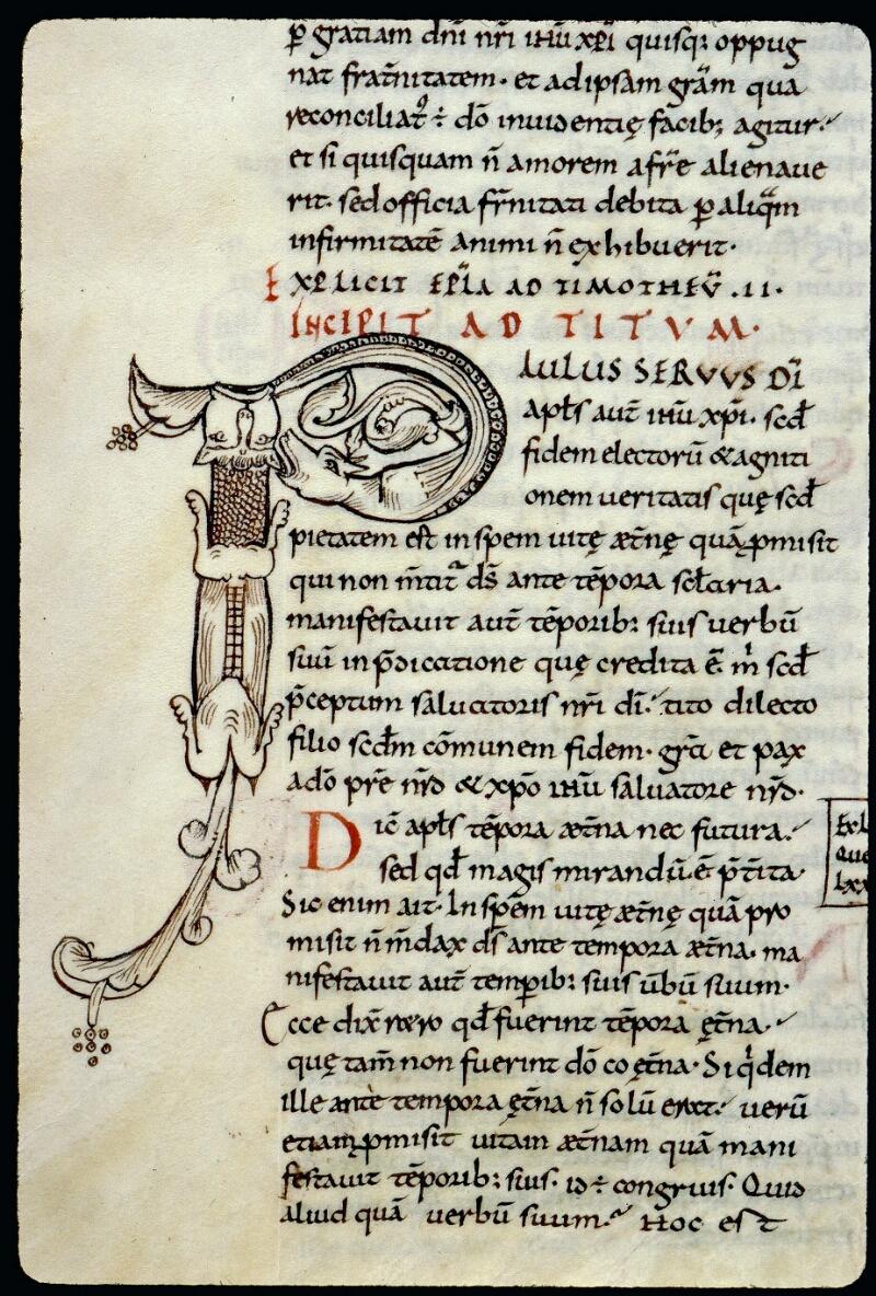 Angers, Bibl. mun., ms. 0066, f. 142v - vue 2