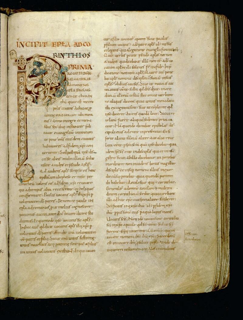 Angers, Bibl. mun., ms. 0067, f. 065 - vue 1