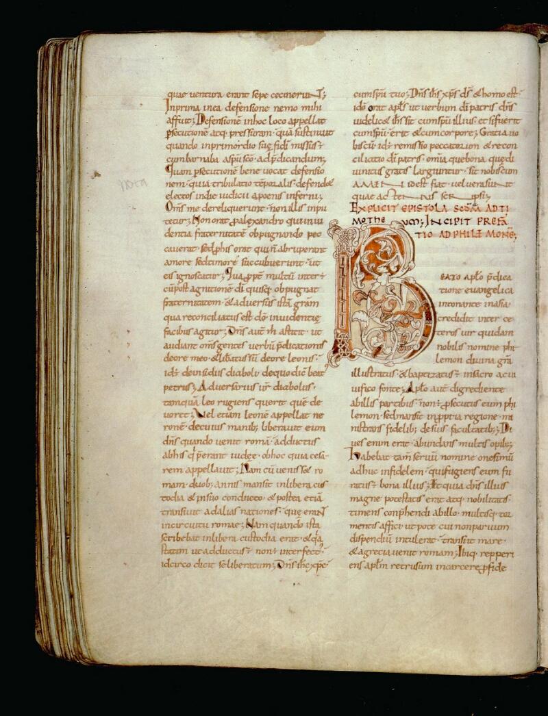 Angers, Bibl. mun., ms. 0067, f. 200v - vue 1