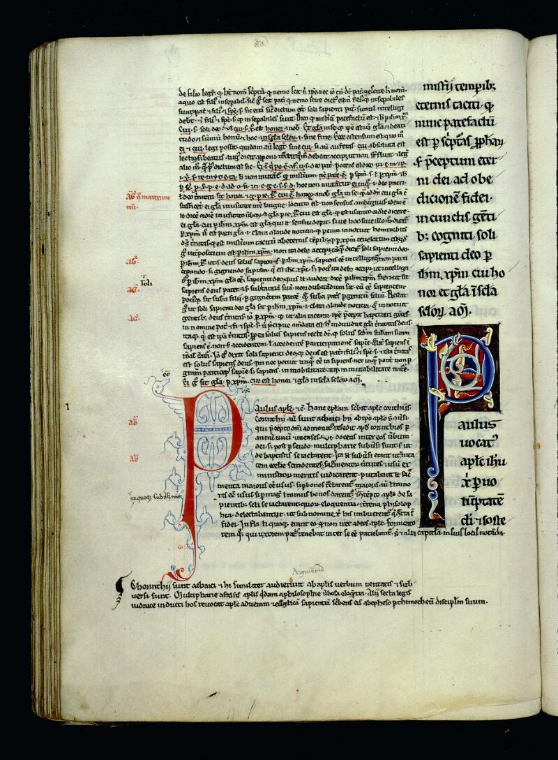 Angers, Bibl. mun., ms. 0069, f. 062v - vue 1