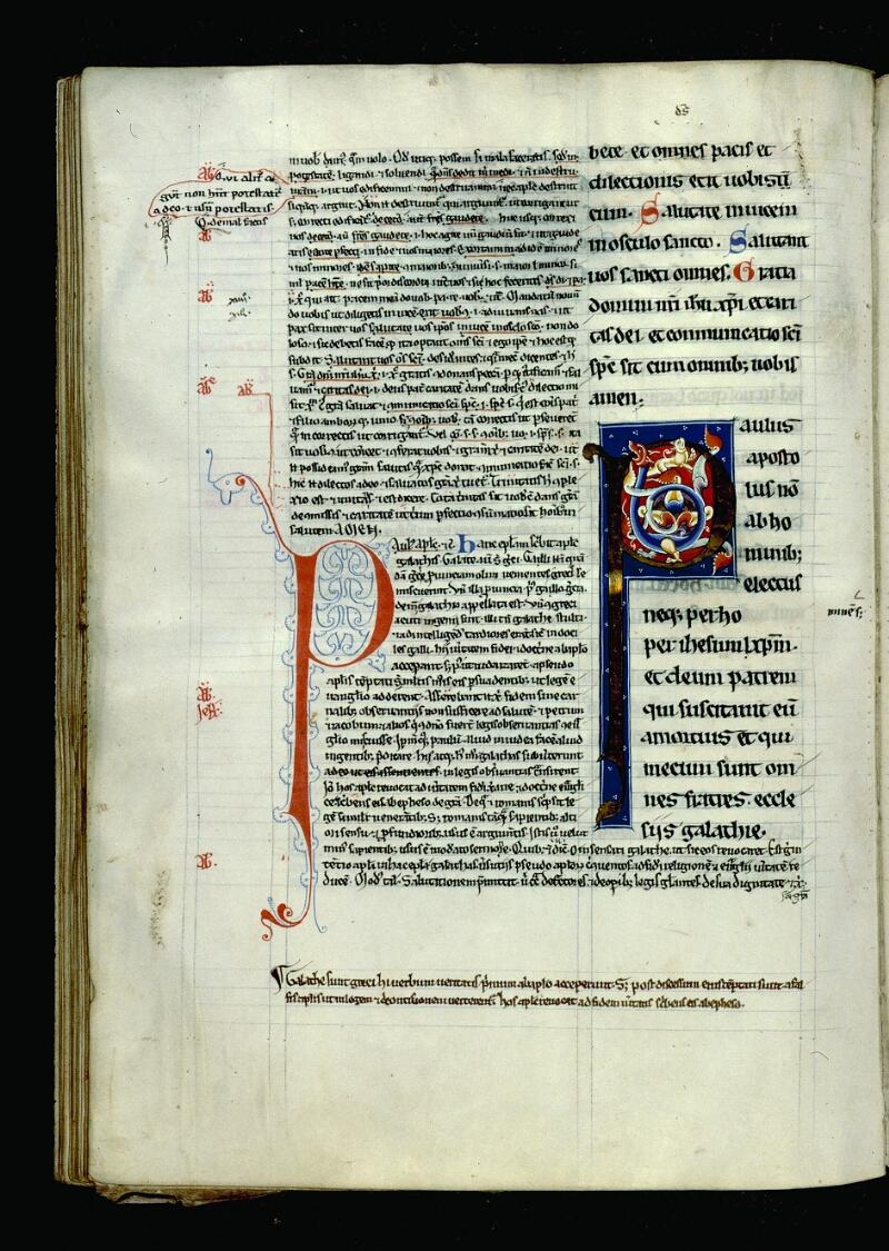 Angers, Bibl. mun., ms. 0069, f. 135v - vue 1
