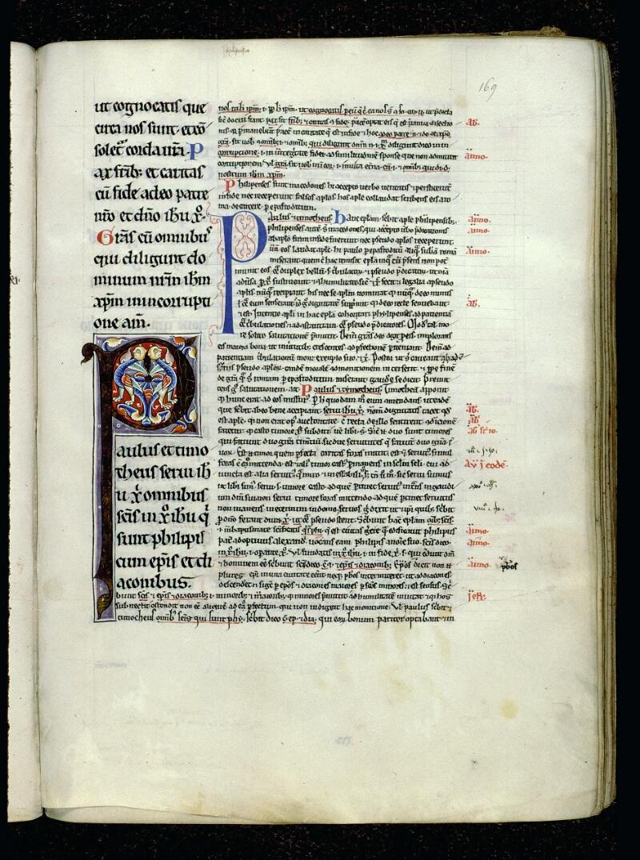 Angers, Bibl. mun., ms. 0069, f. 169 - vue 1
