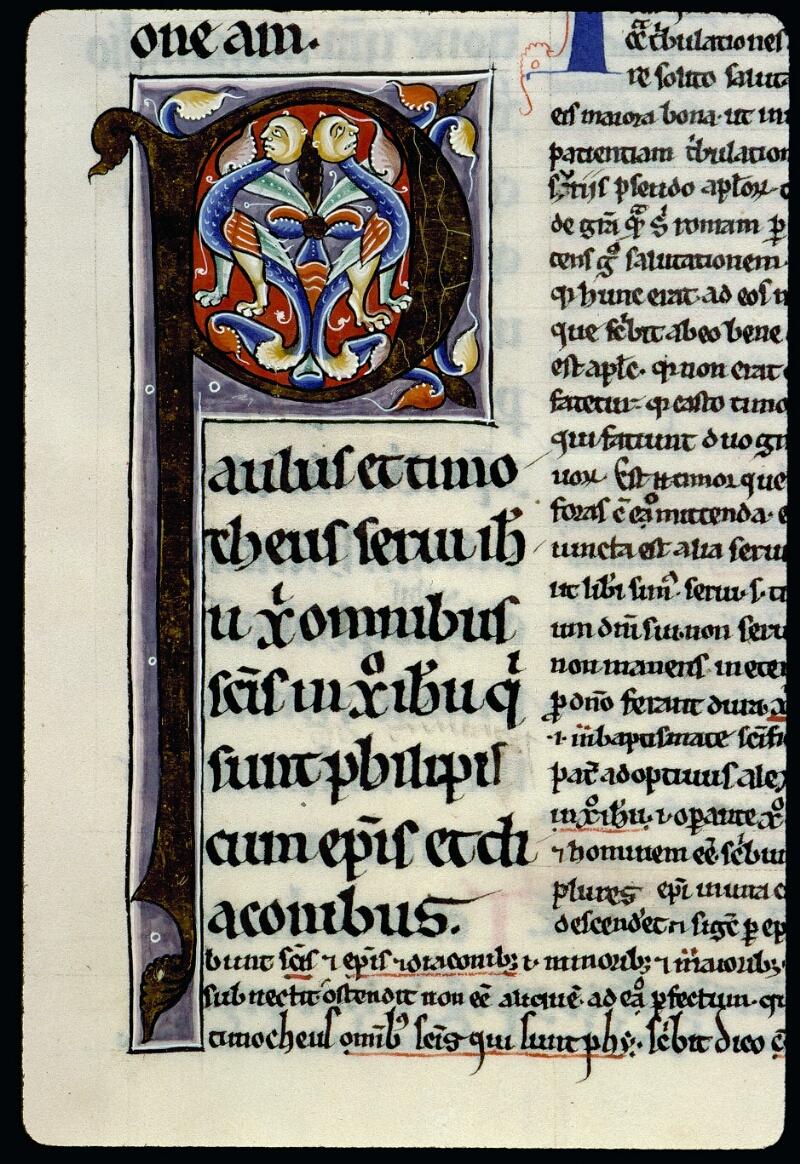Angers, Bibl. mun., ms. 0069, f. 169 - vue 2