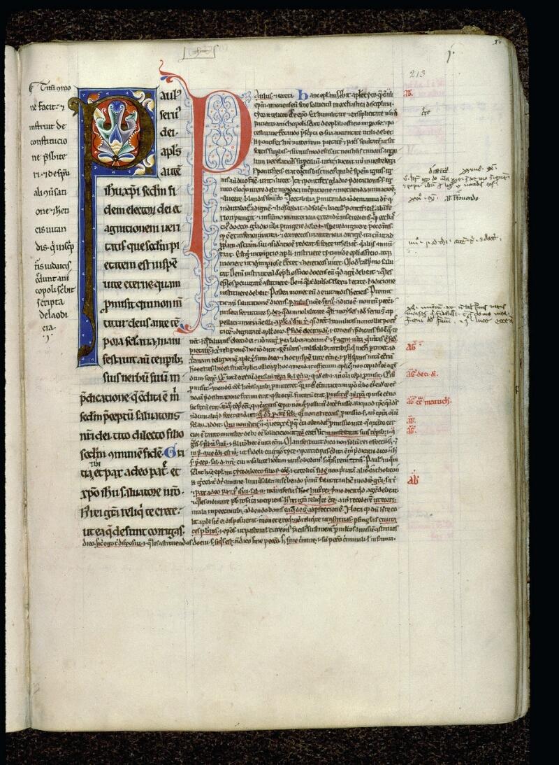 Angers, Bibl. mun., ms. 0069, f. 213