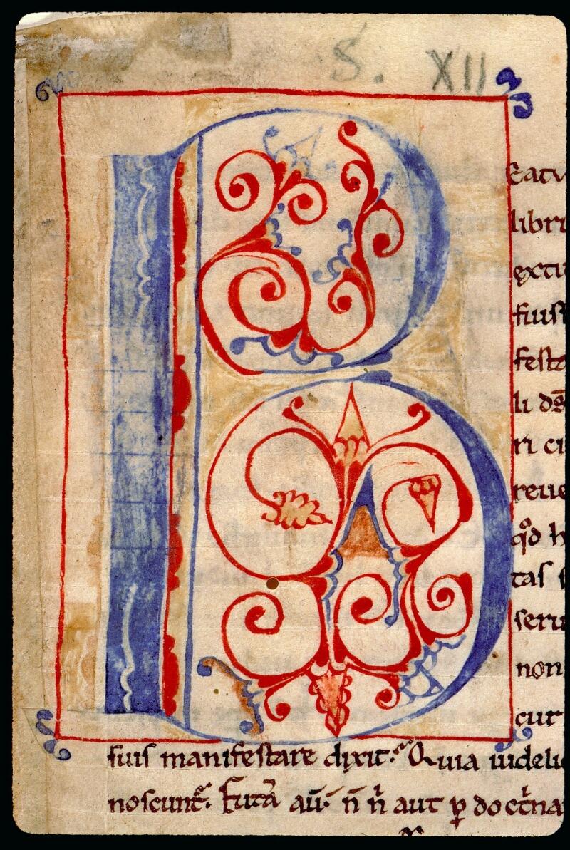 Angers, Bibl. mun., ms. 0076, f. 001 - vue 3