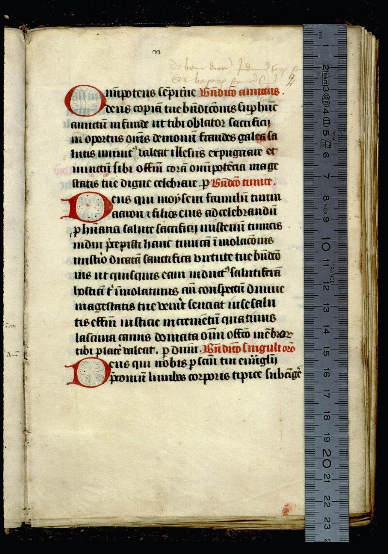 Angers, Bibl. mun., ms. 0077, f. 002 - vue 1