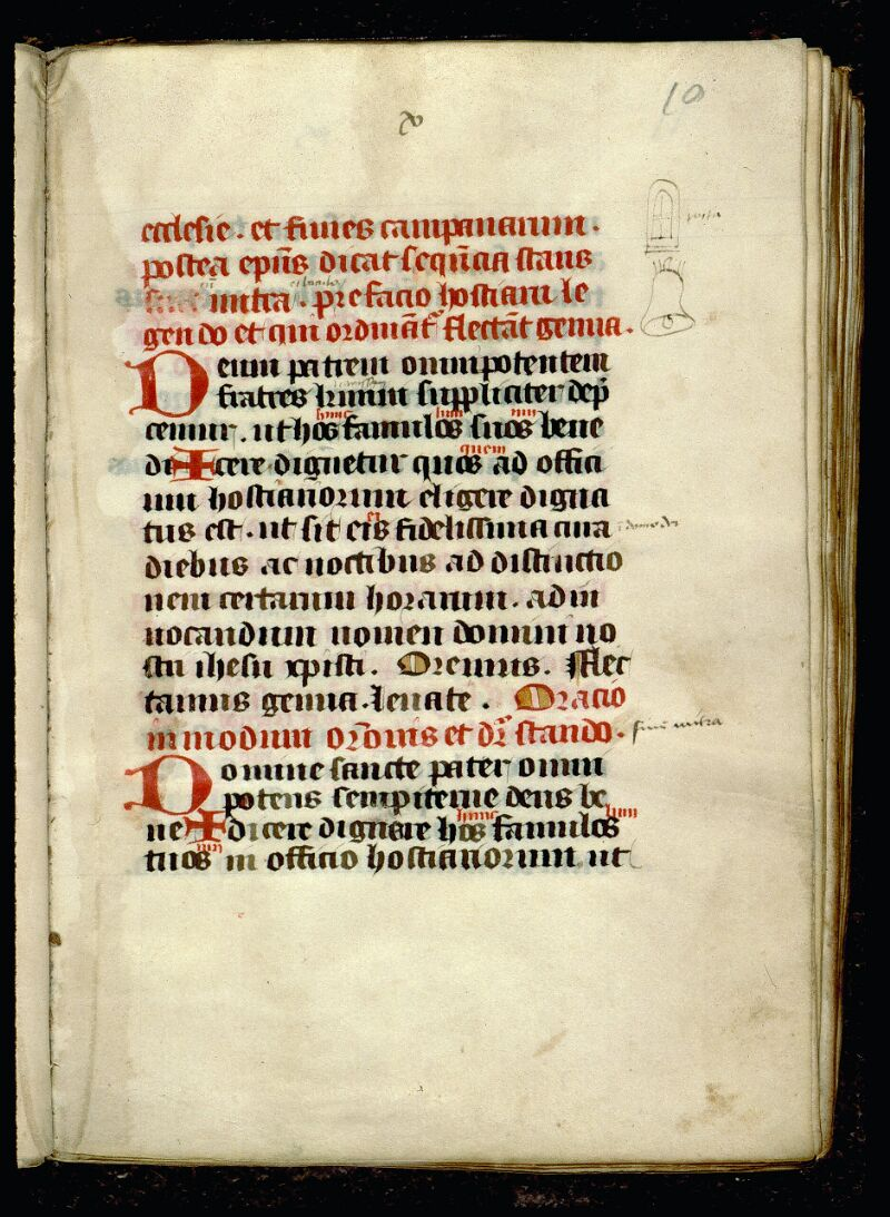 Angers, Bibl. mun., ms. 0077, f. 010 - vue 1