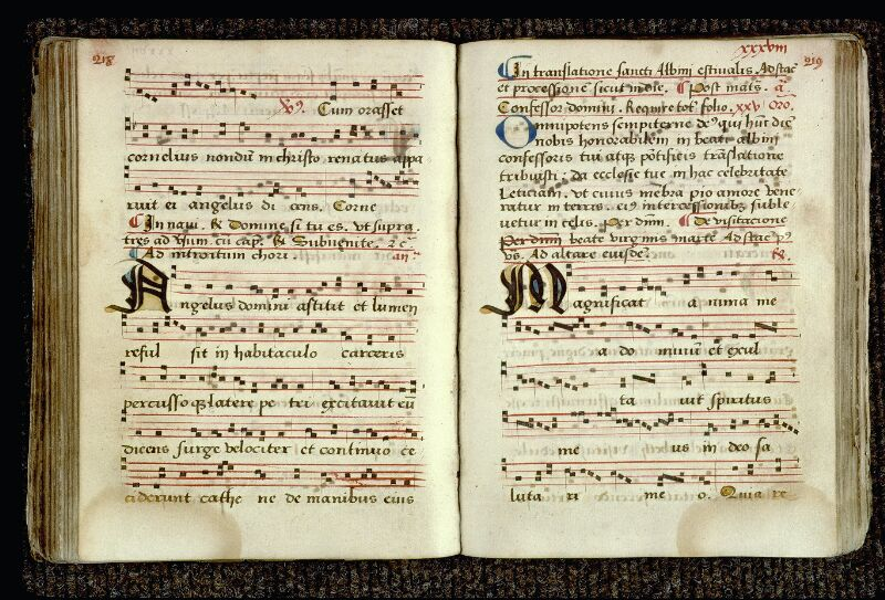 Angers, Bibl. mun., ms. 0081, p. 218-219