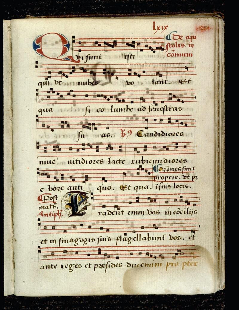 Angers, Bibl. mun., ms. 0081, p. 281