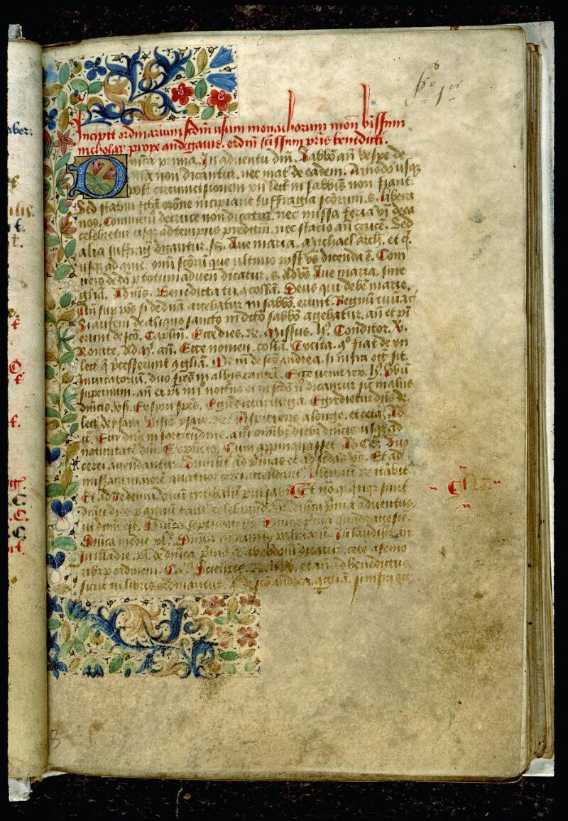 Angers, Bibl. mun., ms. 0089, f. 001