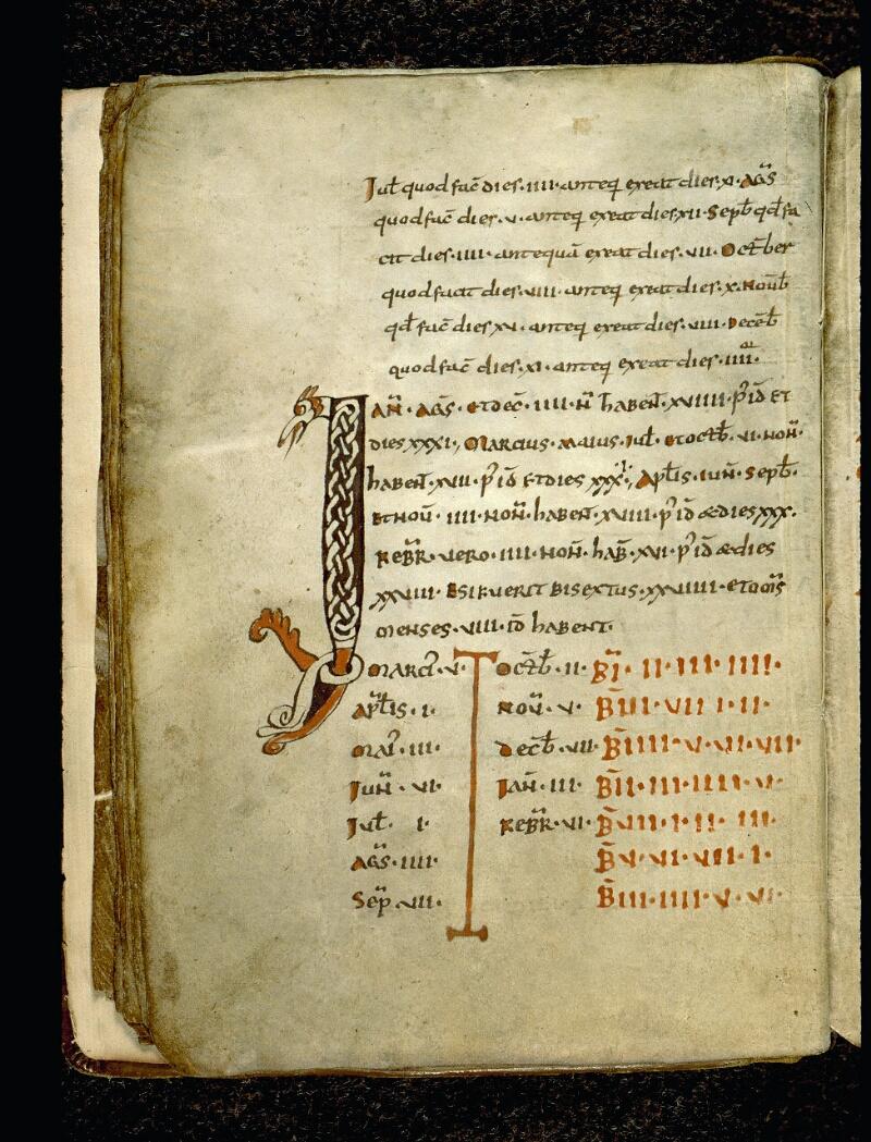 Angers, Bibl. mun., ms. 0091, f. 010v - vue 2