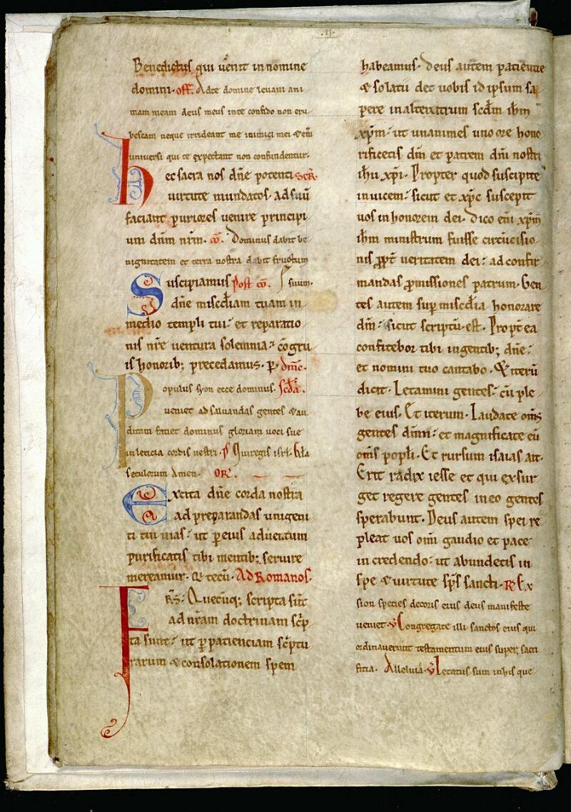 Angers, Bibl. mun., ms. 0093, f. 005v - vue 2