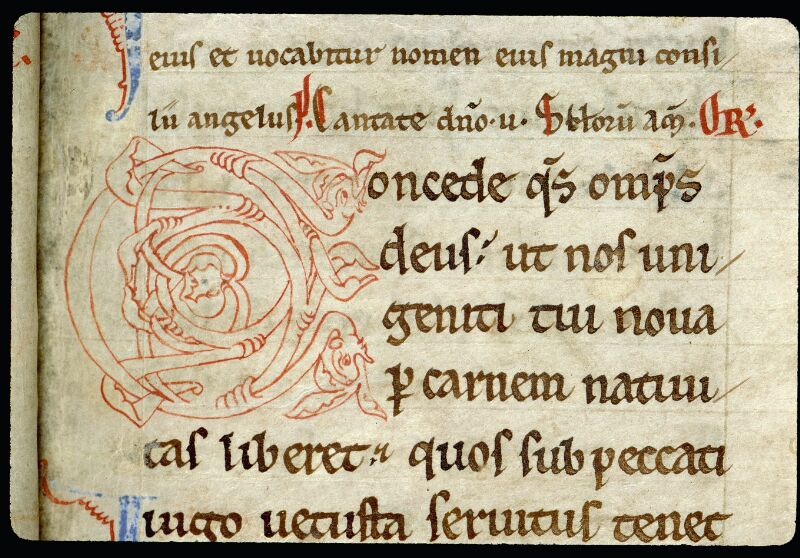 Angers, Bibl. mun., ms. 0093, f. 014 - vue 2